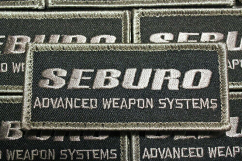 Seburo Advanced Weapons Systems Patch Inspired by Ghost in the shell