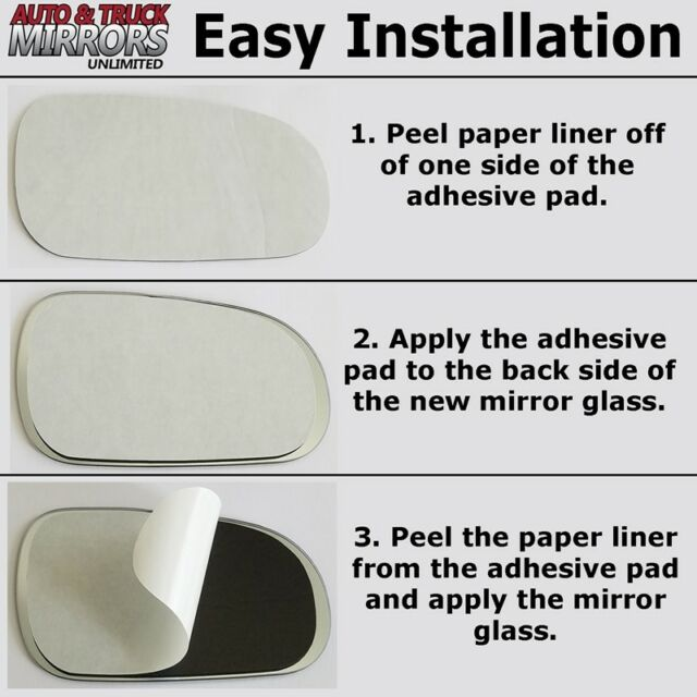 RD510 Replacement Mirror Glass for 2013-2017 Honda Accord Passenger Side Right R