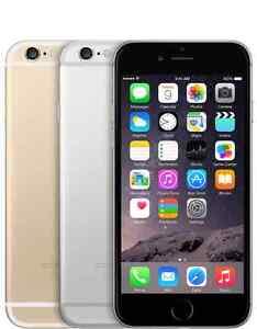Apple iPhone 6 - 64GB (GSM Unlocked) Smartphone - Gold Silver Gray