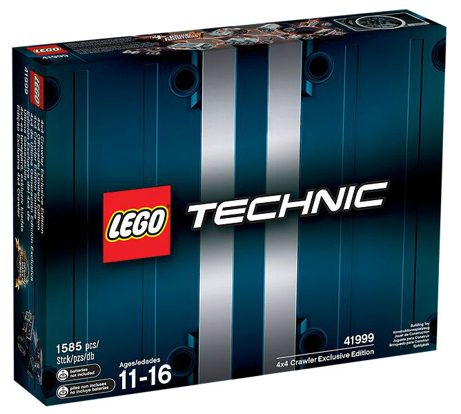 LEGO 41999 Technic 4x4 Crawler Exclusive EditionBrand New, New, New, Perfect Box fc8d64