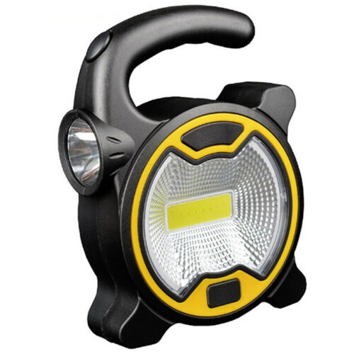 Portable COB LED Work Light Light Flashlight Camping Light Lanterns 3xAA Baty1