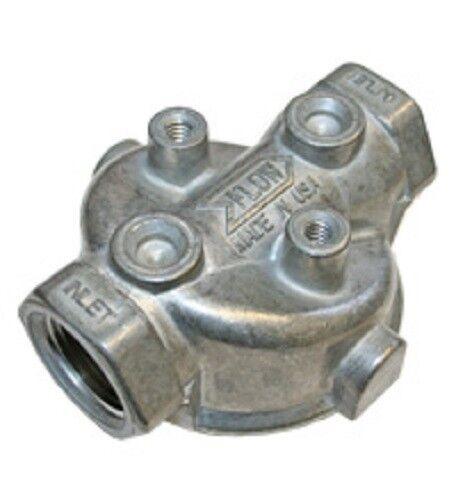 "Hydraulic Oil Filter Head Base Zinga ZAF-07-25-0 w// Bypass 3//4/""NPT 25GPM Return"