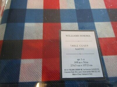 "Williams-Sonoma Classic Tartan tablerunner 16""X 108/"""