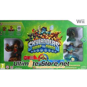 Skylanders-Swap-Force-Pack-de-demarrage-Nintendo-Wii-Neuf-Scelle