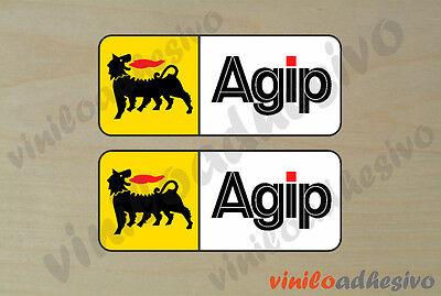 100% Vero Pegatina Sticker Vinilo Agip Ref2 Eni Autocollant Aufkleber Adesivi Rafforzare La Vita E I Sinews
