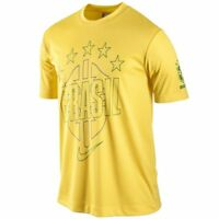 Nike Brazil - Brasil World Cup Wc 2014 Soccer Stars Core Fan Shirt Yellow