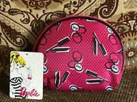 Barbie Soho Round Top Cosmetic Make Up Bag Travel Case Limited Edition Walgreen