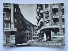 TARANTO Via Duca di Genova vecchia cartolina