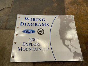 2005 Ford Explorer Mercury Mountaineer Wiring Diagrams ...