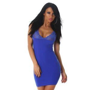 Cocktailkleid blau ebay
