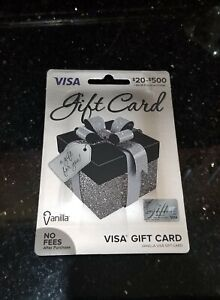 200 Gift Card Pre Activated No Fees Non Reloadable Brand New Unused Ready Ebay