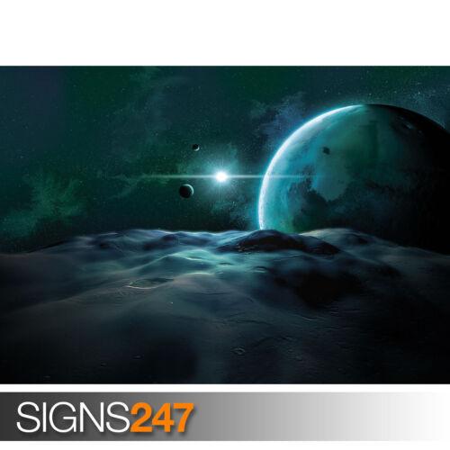image poster imprimé art A0 A1 A2 A3 A4-2ème moitié prix! Près de planète 3125