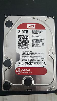 Western Digital WD Red 3TB (WD30EFRX), interne Festplatte, 3.5 Zoll, NAS