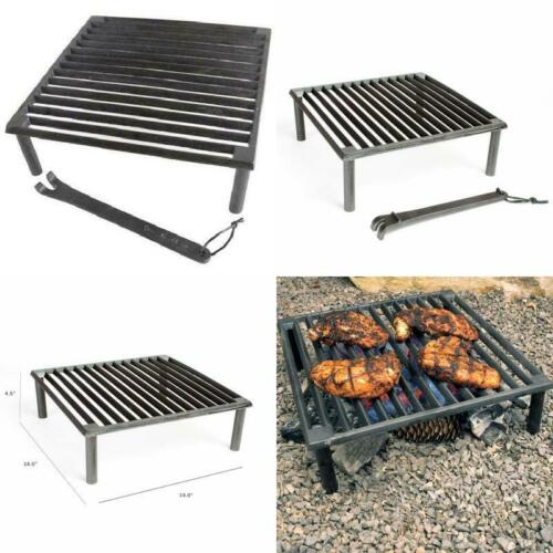 "Steven Raichlen Sr8024 Best Of Barbecue Cast Iron Tuscan Bbq Grill,14"" X 14"""