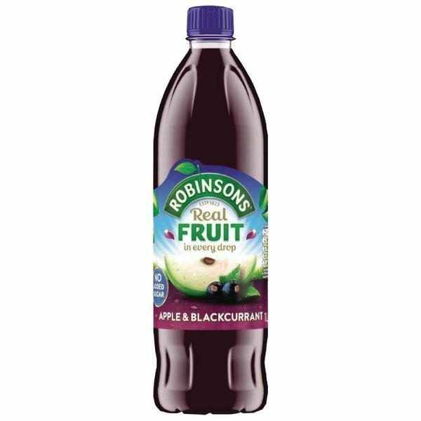Robinsons Apple/Blackcurrant Squash No Sugar 1 Litre 402013 [BRT92802]