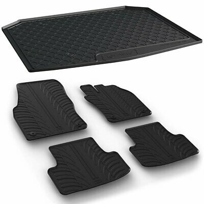 Gledring Fitted Rubber Boot Liner & Floor Mat Set to fit ...