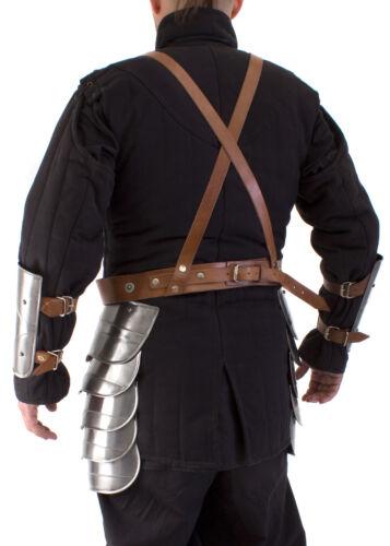 Mittelalter Rüstung Schaukampf LARP Beintaschen King aus Stahl