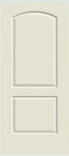 Continental 2 Panel Arch Primed Solid Core Molded Interior Wood Composite Doors