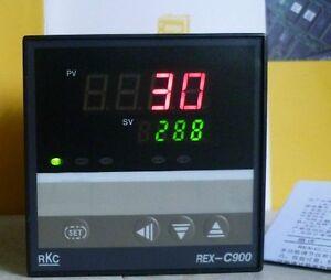 PID Digital Temperature Controller REX-C900 100-240VAC 0-400℃ Relay Output
