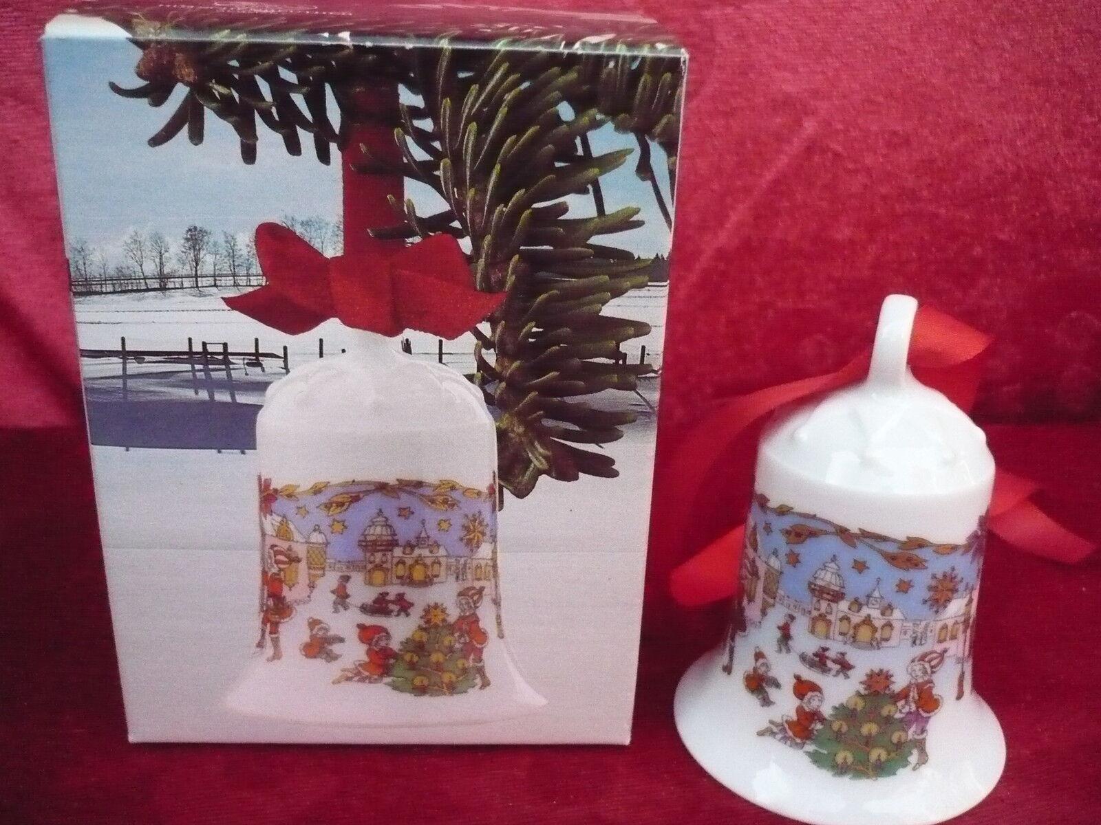 Hutschenreuther Campane di Natale__ 1987__ 7cm_