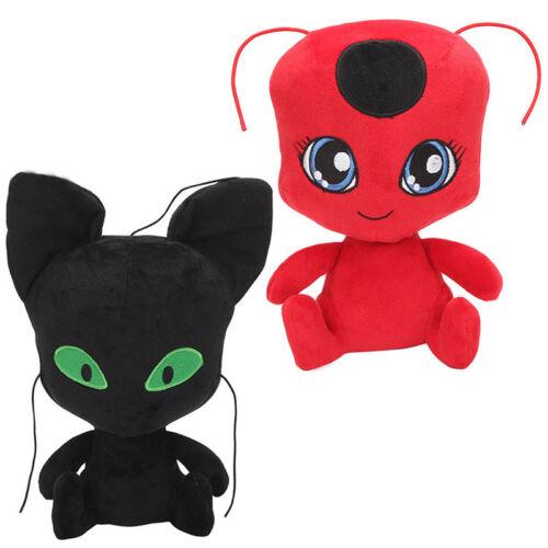 Xmas Miraculous LadyBug Cat Noir Adrien Marinette Plagg Plüsch Figur Stofftiere