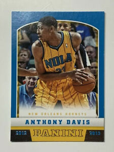 Anthony-Davis-2012-Panini-Rookie-Basketball-Card-241-Lakers-NM