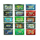 Pokemon Gameboy Gba Sp, Emerald, Leaf Green, Fire Red, Ruby,Sapphire, Darkcry