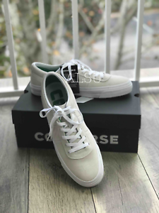 26e4ab62dd9 Sneakers Mens Converse One Star CC Pro Suede White Green Low Top