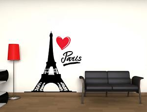 Adesivo Parigi torre eiffel città stickers murale decalcomania vari colori 02