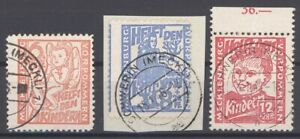 SBZ-Mi-Nr-26-28-Freimarken-1945-gestempelt-geprueft-BPP-28557