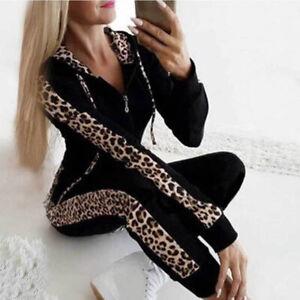 2tlg-Femmes-Survetement-Leopard-Pull-a-Capuche-Debardeurs-Pantalon-Costume-Tenue
