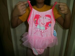 CLOSEOUT-SALE-Imported-From-USA-I-Peppa-Pig-Swimwear-2T
