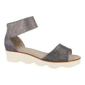 Gabor Theme II Leather Wedge Ladies Gladiator Sandals