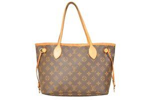 Louis-Vuitton-Monogram-Neverfull-MM-Tote-Shoulder-Bag-M40156-YG00552