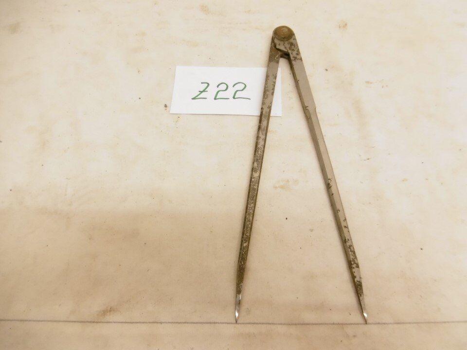 1x Zirkel Innentaster Stahlzirkel Anreißzirkel 420mm ex Bundeswehr bw (Z22)