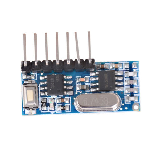 433mhz RF Wireless Receiver 1527 Learning Code Decoder Module Plf