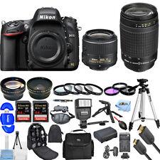 Nikon D610 DSLR Camera with 18-55mm + 70-300mm!! 2 LENS MEGA BUNDLE BRAND NEW!!