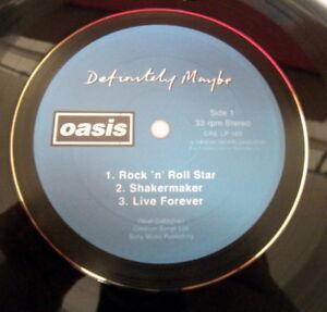 OASIS-Definitely-Maybe-LIAM-amp-NOEL-GALLAGHER-VINYL-LP-RETRO-BOWL-ideal-gift