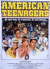 """AMERICAN TEENAGERS (LOSIN' IT)"" Affiche originale (Curtis HANSON / Tom CRUISE)"