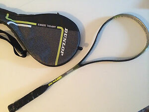 raqueta-de-squash-DUNLOP-FLEX-TECH-T4-con-funda