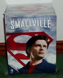 Smallville-Series-Complete-10-Seasons-DVD-New-Sealed-Series