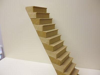 Casa De Muñecas 1//12 escala 14 peldaños Escaleras Hazlo tú mismo Kit DHD011