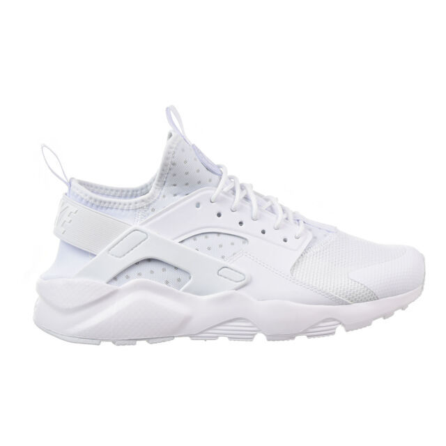 69d57e98dca8b Nike Air Huarache Run Ultra Size 9 Triple White 819685 101 for sale ...