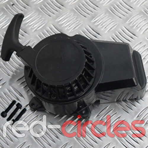 BLACK 49cc METAL COG MINI MOTO MINIMOTO DIRT BIKE PULL START CORD PULLSTART