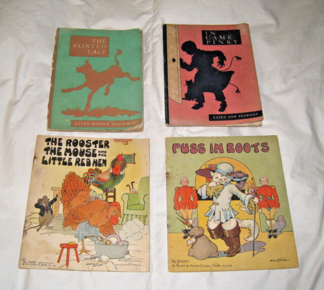 Puss in Boots 34 The Rooster The Mouse 32 The Painted Calf 39 In Game Pinky 1939