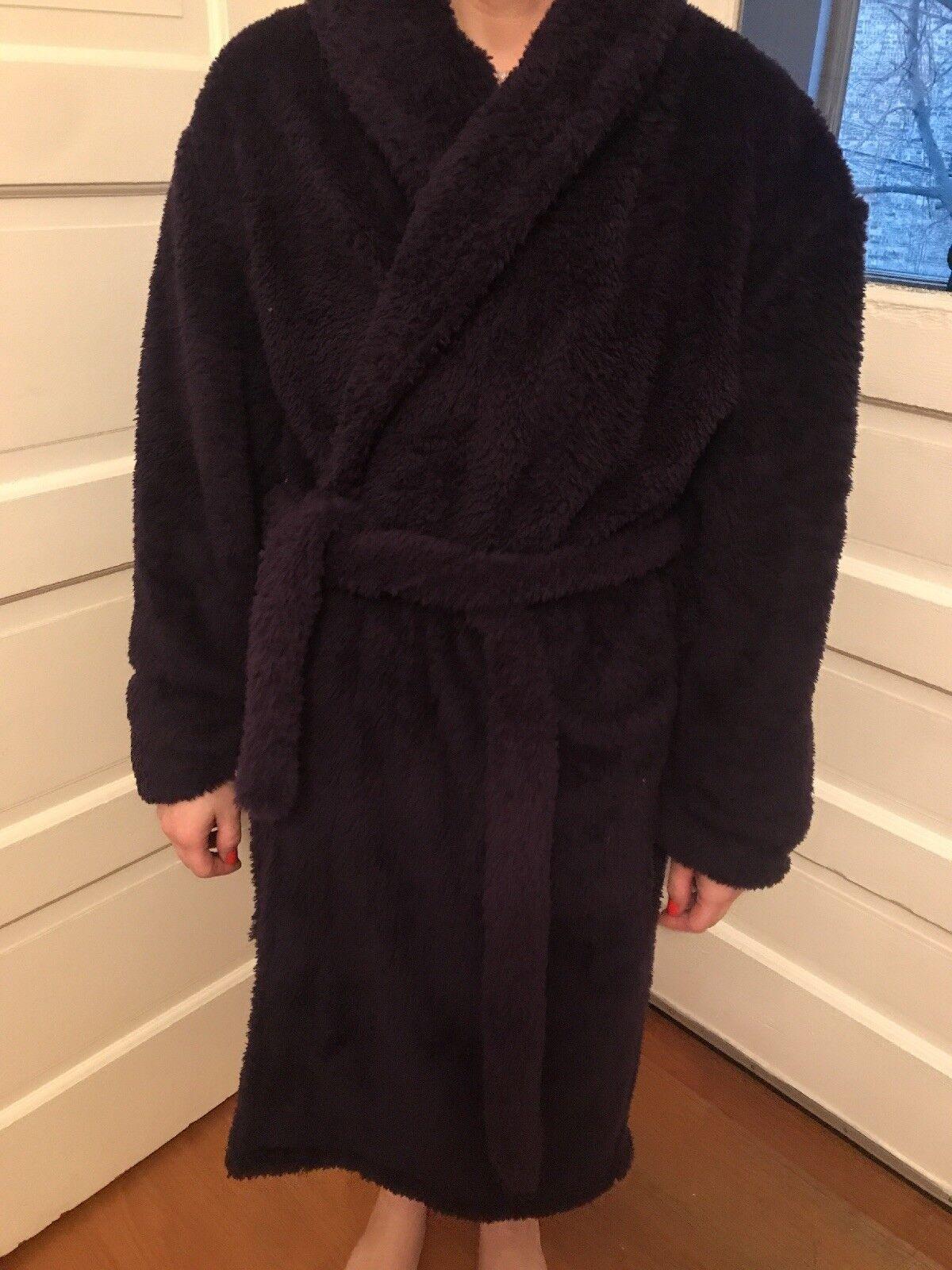 Alexander Del Rossa Womens Fleece Robe, Plush Microfiber Bathrobe, Small Medium