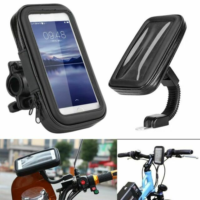 Motorcycle Bike Bicycle Waterproof Case Cover Bag Mount Holder For Mobile Phone