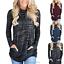 Women-039-s-Long-Sleeve-Hoodie-Sweatshirt-Sweater-Hooded-Jumper-Coat-Pullover-Tops thumbnail 4