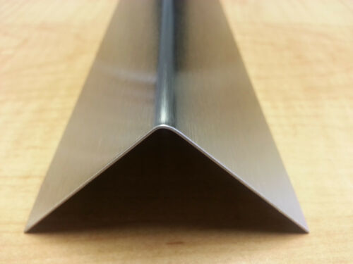"20ga Stainless Steel Fabricated Angle T-304 1 1//2/"" x 1 1//2/"" x 48/"""