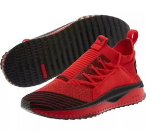 e9d0bcc86a70 Puma X Fubu Tsugi Jun Running Sneaker High Risk Red Black Men Size ...